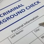 police backgroud check dismissal